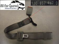 VW Bora Seat Belt & Buckle Driver & Middle Rear 4dr Saloon