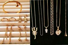 NEW 11 Pieces Assorted Jewellery Necklace Anklet Earrings Bangle GIFTS #63
