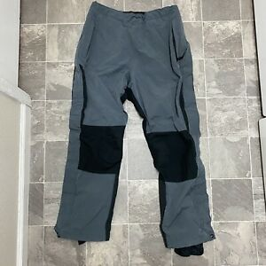Women's Vintage REI Gore Tex Outdoor Hiking Snow Pants Sz XL Gray Black