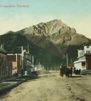 Postcard, 1911 Banff Alberta Canada, Vintage P23