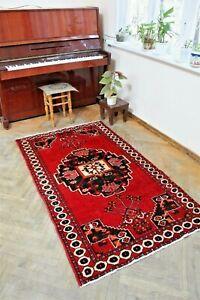 Antique carpet-Baluchi rugs - classic carpet size:186 x 109 cm - 3.57x 6.10 foot