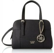 GUESS Huntley Medium Cali Satchel Handbag Black 5