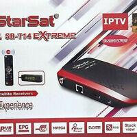 Starsat t14 sr-2020HD Extreme receiver +Forever server +Apollo +vod +youtube
