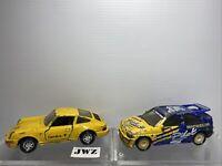 Rare Matchbox 1/38 Ford Escort RS Cosworth - Michelin & Porsche 911 chck descrip