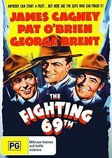 THE FIGHTING 69TH - NEW & SEALED R4 DVD (JAMES CAGNEY, PAT OBRIEN, GEORGE BRENT)