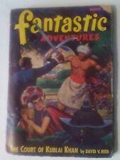 FANTASTIC ADVENTURES PULP MAGAZINE. MARCH 1948.