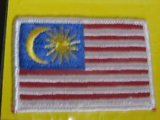 NIP Malaysia Malaysian Flag Embroidered Patch Badge Emblem new in package