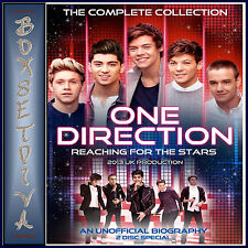 ONE DIRECTION - REACHING FOR THE STARS COMPLETE COLLECTION **BRAND NEW DVD  **
