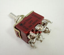 Heavy Duty 6 Pin Momentary Toggle Switch DPDT (ON)-OFF-(ON) Centre Off 15A 250V