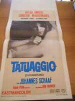 Locandina TATUAGGIO 1968 Helga Anders