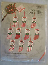 Something Special Santas Stocking Counted Cross Stitch Christmas Ornament Kit