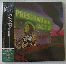 The Kinks-Preservation Act 2 + 2 JAPAN MINI LP CD NUOVO! VICP - 63844