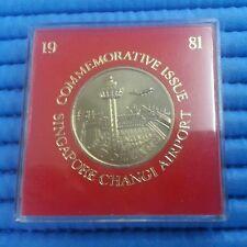 1981 Singapore Changi Airport Commemorative $5 Cupro-Nickel Coin