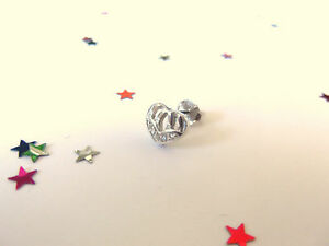 Stylish Mens Sterling Silver Earring