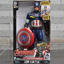 "Avengers Captain America 10"" Poseable Talking Action Figure"