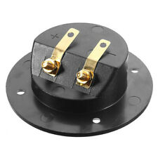 2-Way Speaker Box Terminal Binding Post Stereo Screw Cup Connector for Car Home