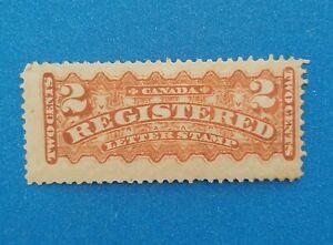 Canada stamp Scott #F1 MH good original gum. Good colors, perfs. Nice stamp.