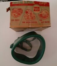 New listing Vintage Swim King Triangle Mask Goggles Diving Snorkeling Made in USA