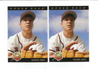 CHIPPER JONES (Atlanta Braves) 1993 UPPER DECK STAR ROOKIE CARD #24