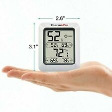 More details for thermopro tp50new large lcd digital thermo-hygrometer, indoor weather hygrometer