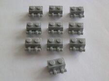 Lego 30236# 10x Stein mit Griff 1x2 grau neu hellgrau Star Wars 7261 10179
