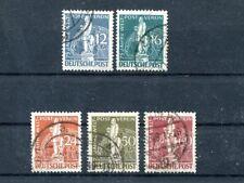 Berlin Nr. 35 - 39 gest. Weltpostverein (#58728)