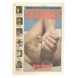 Sounds 23 July 1983 - Peter Hook,New Order,Midge Ure,Fun Boy Three,Bruce Foxton