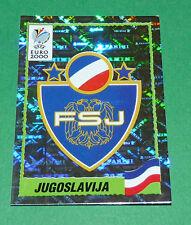N°210 BADGE ECUSSON JUGOSLAVIJA YOUGOSLAVIE PANINI FOOTBALL UEFA EURO 2000
