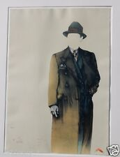 """BRUNI LITHOGRAPH 27""""X38"""" CLASSICAL REALISM FIGURES & PORTRAITS SIGNED 1970-1989"""