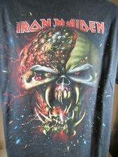Vintage 2009/2010 Iron Maiden Final Frontier World Tour T-Shirt Large
