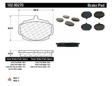 Disc Brake Pad Set fits 1967 Triumph 2000  C-TEK BY CENTRIC
