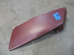 1978 1979 Oldsmobile Cutlass rear quarter panel bumper filler end piece trim D