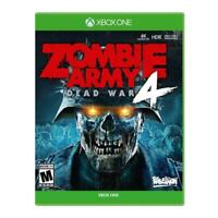 Zombie Army 4 Dead War Xbox One - NEW FREE US SHIPPING