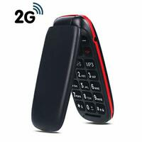 GSM Flip Mobile Phones for Elderly,Sim Free Mobile Phones Unlocked,Pay As You Go
