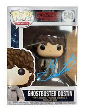 More details for ghostbusters dustin funko pop signed by gaten matarazzo 100% with coa