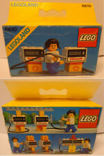 Vintage Game Gioco LEGO Città Town Set 6610 New Nuovo 1981 Shell - Gas Pumps -