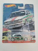 HOT WHEELS DIECAST Car Culture - Door Slammers - '71 Datsun 510 - 3/5
