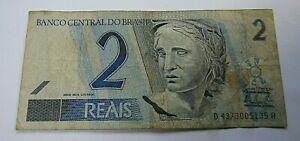 2 Reais Brasilien 2006 - Brazil Banknote