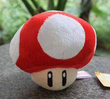 """Super Mario Bros Red Mushroom Plush-6"""""""