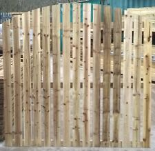 Paling Fence Panel Arched Top - Pressure Treated 6ft x 6ft