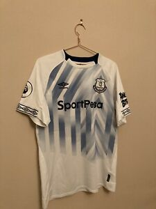 Everton 2018/2019 Large Third Shirt with Baines 3 Printing