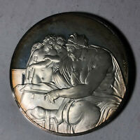 The Cumaean Sibyl, The Genius of Michelangelo 1.26oz Sterling Silver Medal