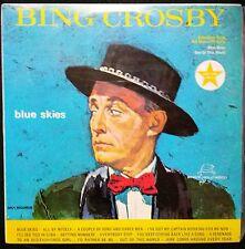 BING CROSBY - BLUE SKIES VINYL LP AUSTRALIA