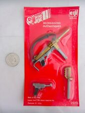 Vintage Group Action Joe GI Action Man THOMPSON GREASE GUN LUGER & JUNGLE KNIFE