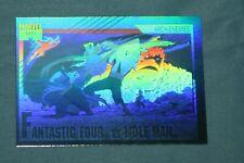 Fantastic Four Vs Mole Man 1991 Marvel Universe Hologram #H-5