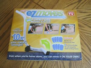 NEW - EZ MOVES AS SEEN ON TV FURNITURE MOVING SYSTEM