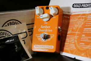 Mad Professor Amber Overdrive Hand Wired Hw