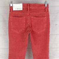 Ann Taylor LOFT Skinny Womens Sz 00 Stretch Salmon Pink Performance Legging NWT