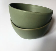 Hearth and Hand by Magnolia (Joanna Gaines) Set of (2) Mini Green Bowls