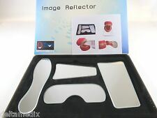 Dental Orthodontc Mirror Reflector Photographic Glass Kit 4 Pcs ANGELUS